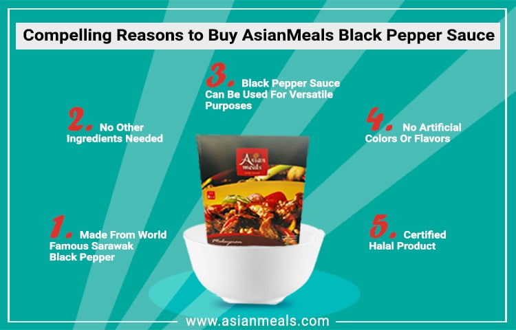 5 Reasons to Buy AsianMeals Black Pepper Sauce