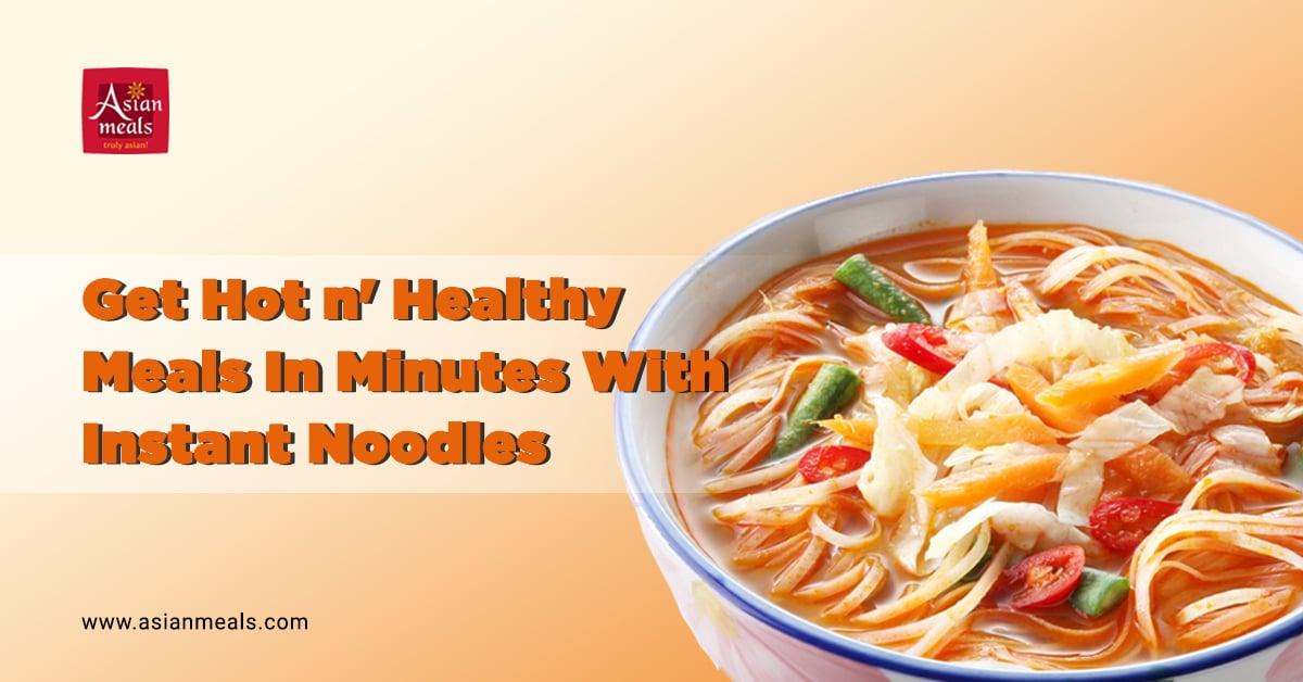 AsianMeals instant noodles